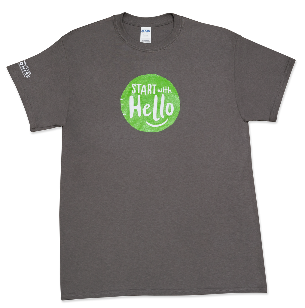 Start With Hello T-Shirt