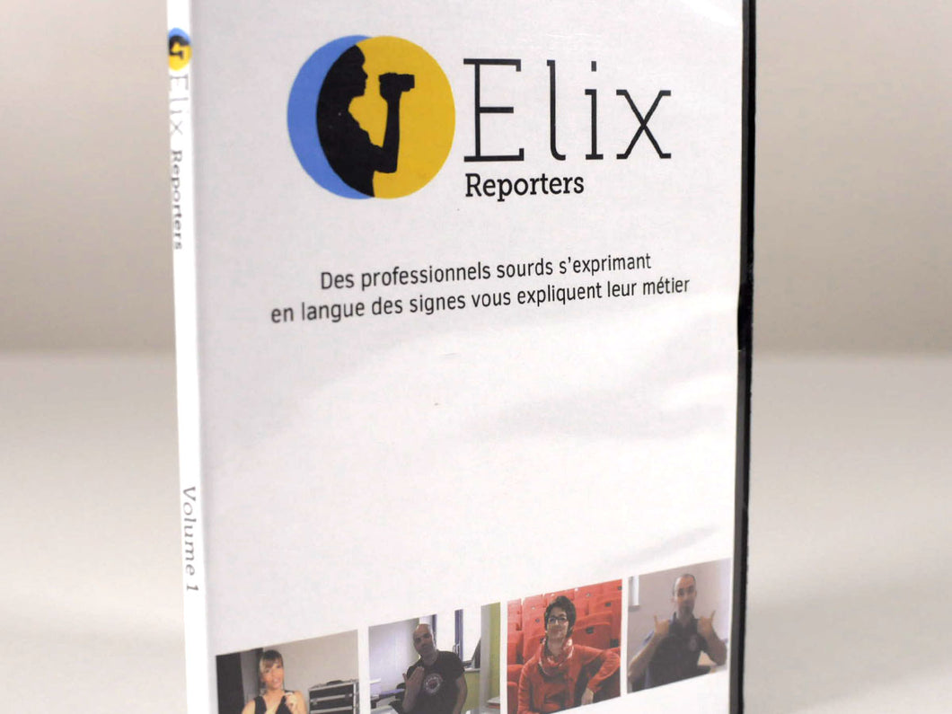 DVD « Elix Reporters » (Tome 1)