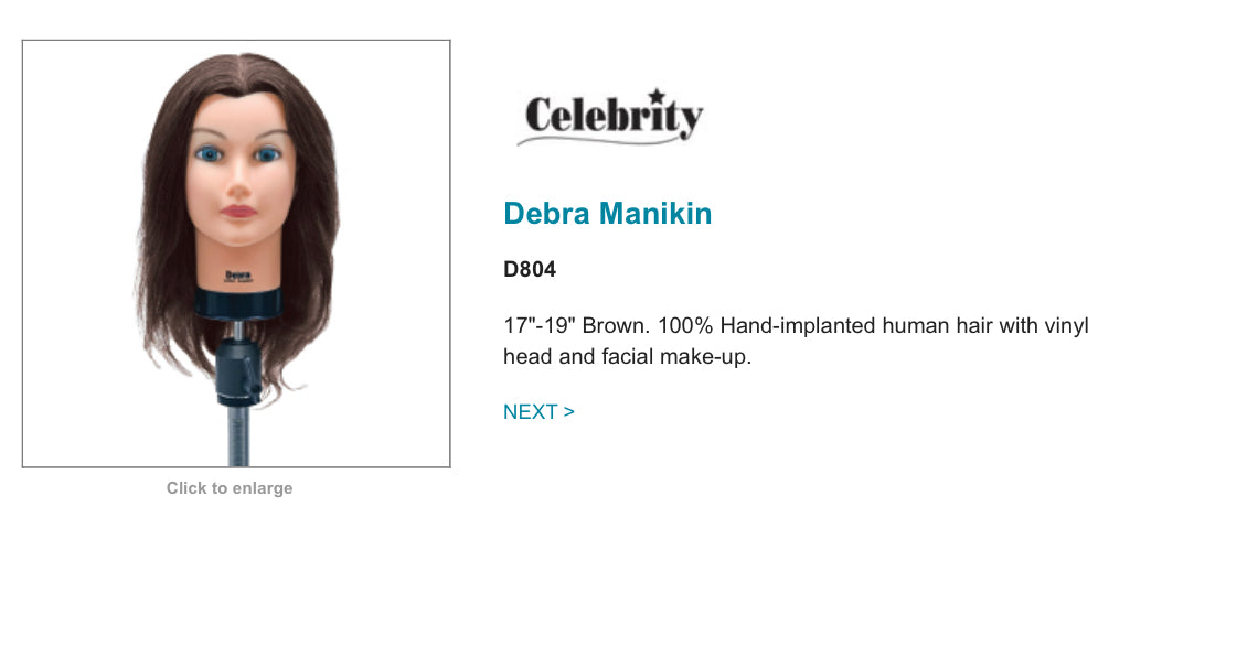 Training Mannequin (Celebrity Debra)