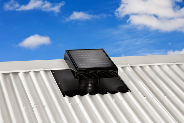 Bradford Ventilation SolarXVENT Solar Roof Vent (Perth)-The Home Insulation Team