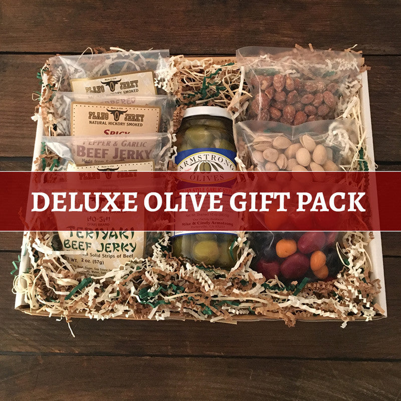Deluxe Olive Snack Pack