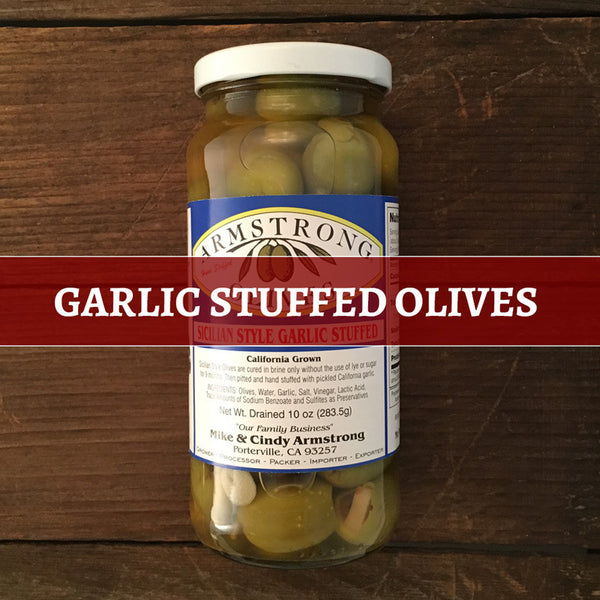 Olives, Garlic STFD