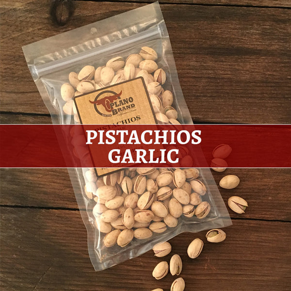 Pistachios, Garlic