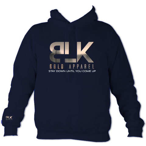 AWD College Oxford Navy Hoodie