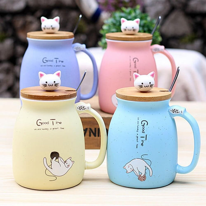 Cute Little Catty Mugs