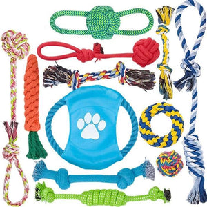 12 Pack Dog Rope Toys Dog Toy My Pets Gate