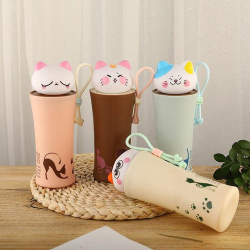 Cartoon Thermos Bottle My Pets Gate