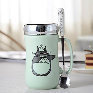 Creative Cartoon Cat Mug My Pets Gate Light Blue Gift Package