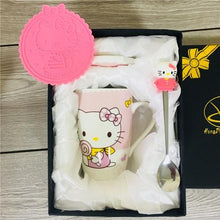 Load image into Gallery viewer, Creative Cartoon Cat Mug My Pets Gate Light Pink Gift Package