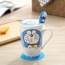 Load image into Gallery viewer, Creative Cartoon Cat Mug My Pets Gate Plain Single Hello Cat