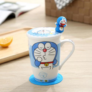 Creative Cartoon Cat Mug My Pets Gate Plain Single Hello Cat