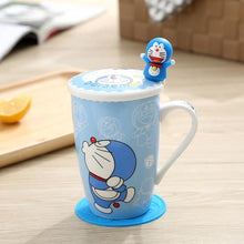 Load image into Gallery viewer, Creative Cartoon Cat Mug My Pets Gate Plain Single Misterious