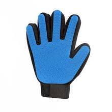 Load image into Gallery viewer, Pet Grooming Glove Pet accessories My Pets Gate Blue Left and Right