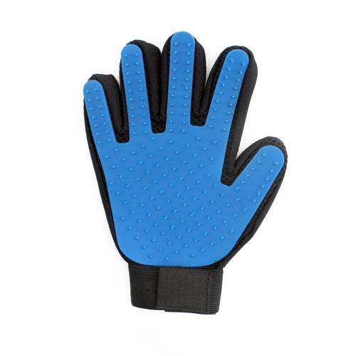Pet Grooming Glove Pet accessories My Pets Gate Blue Left and Right