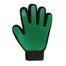 Load image into Gallery viewer, Pet Grooming Glove Pet accessories My Pets Gate Green Left and Right