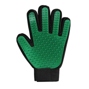 Pet Grooming Glove Pet accessories My Pets Gate Green Left and Right