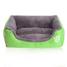 Load image into Gallery viewer, Petstyle Rectangle Bed My Pets Gate Green S