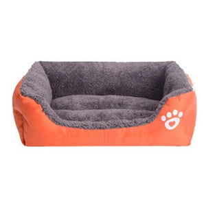 Petstyle Rectangle Bed My Pets Gate Orange S