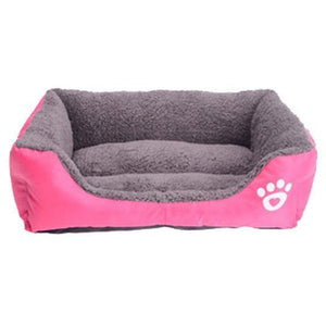 Petstyle Rectangle Bed My Pets Gate RoseRed S