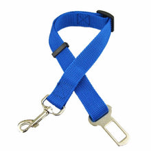 Load image into Gallery viewer, Pettyseat Seat Belt For Pets My Pets Gate Blue S