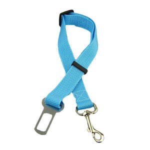 Pettyseat Seat Belt For Pets My Pets Gate Sky Blue S