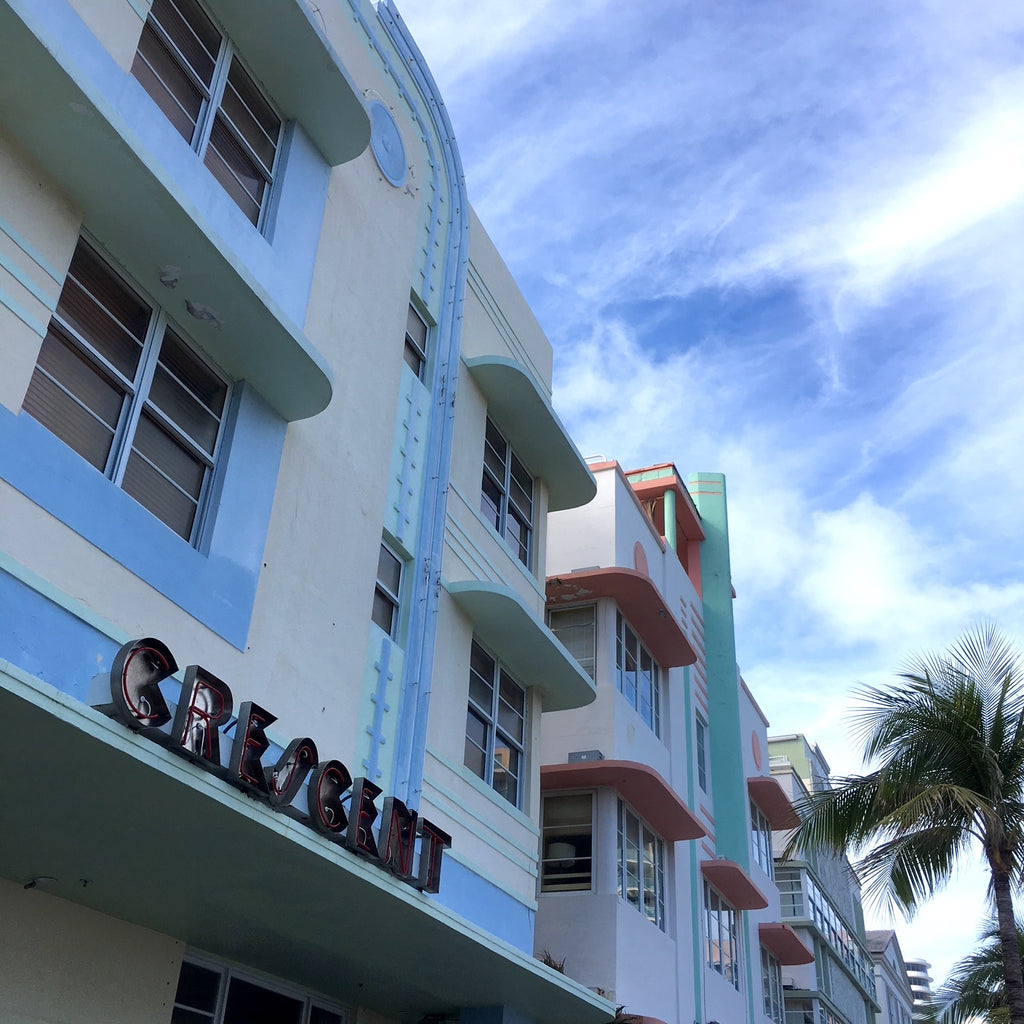 Art Deco buildings, South Beach