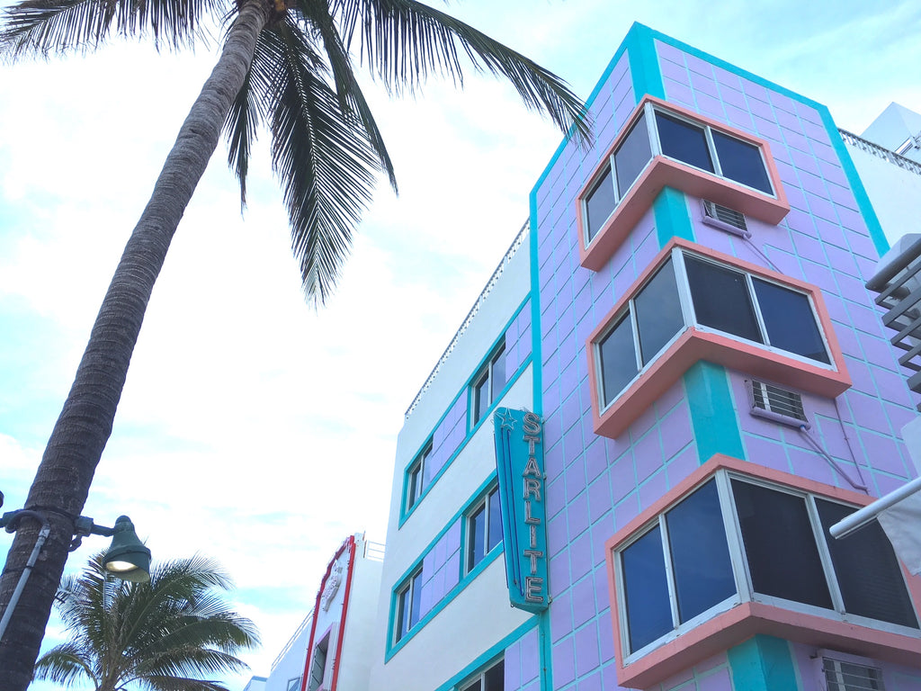 Art Deco buildings, Miami
