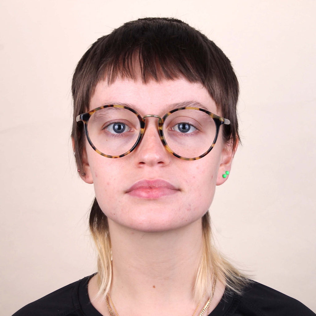 Vintage Cutler and Gross Oversized Round Glasses Frames