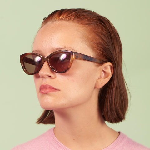 Vintage Cutler And Gross Cat Eye Sunglasses