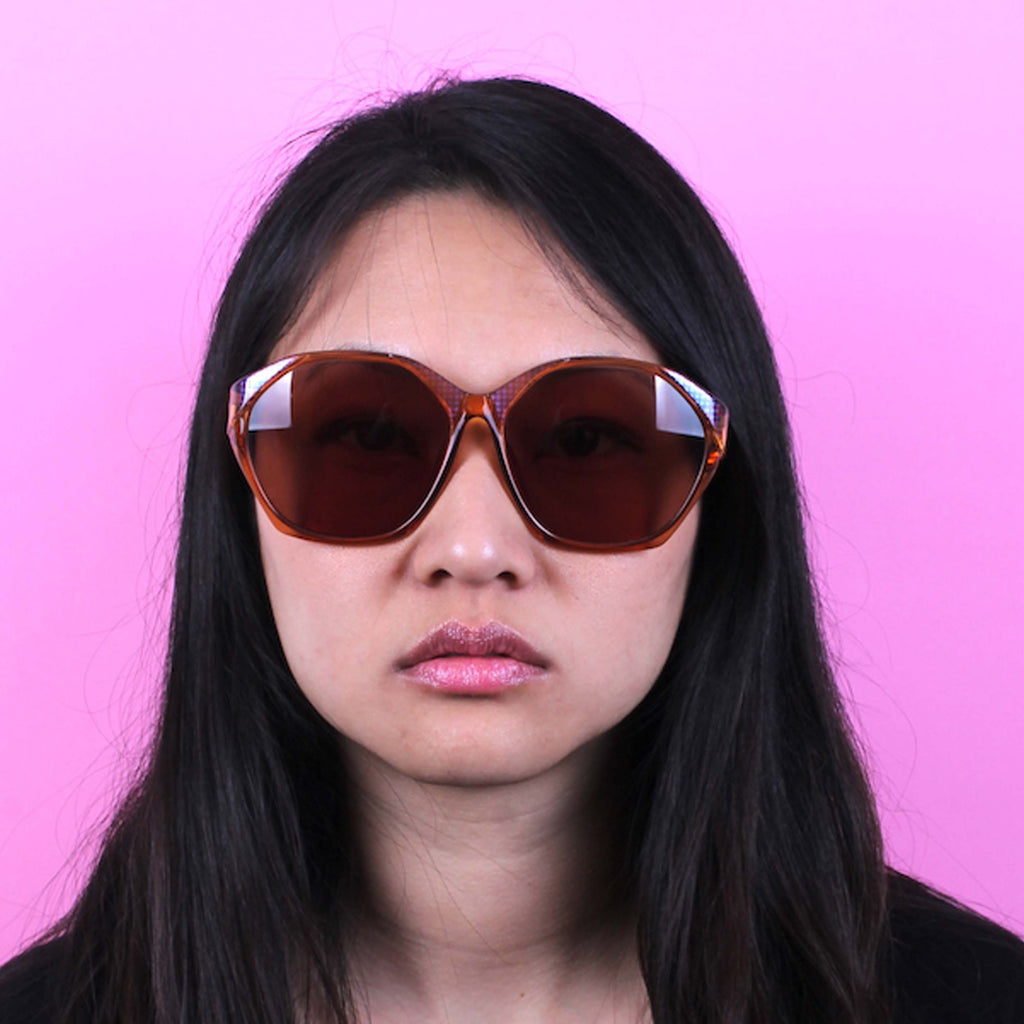 Vintage 80s oversized Christian Dior Sunglasses