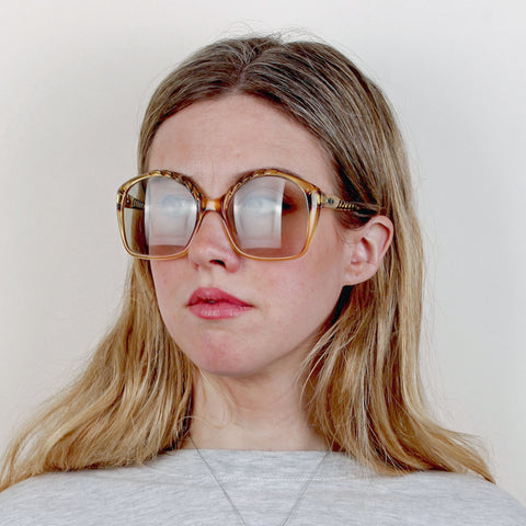 Vintage Oversized Christian Dior Sunglasses