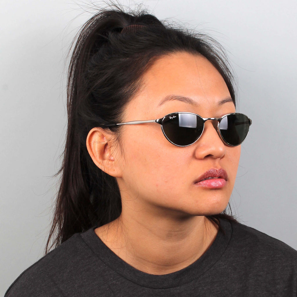 Vintage 90s Silver Ray-Ban Sunglasses