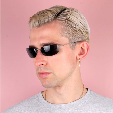 Vintage 2000s Rimless Silhouette Sunglasses