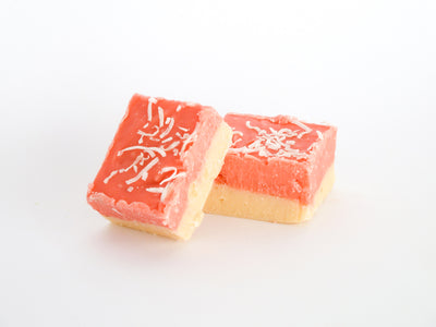 Coconut Ice Fudge (gf)