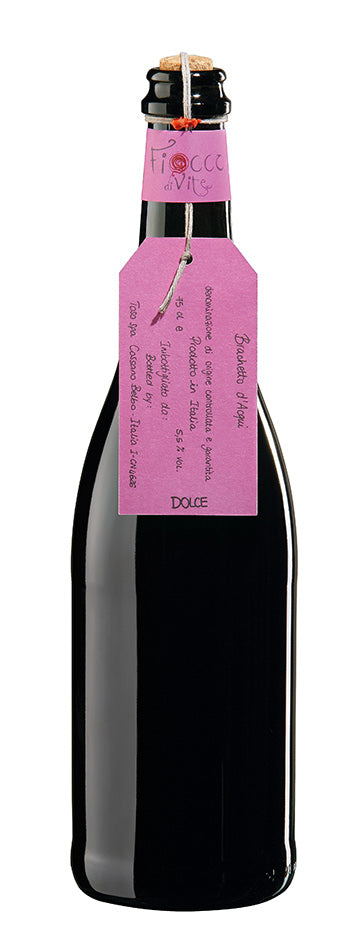Brachetto D'Aqui (Low Alcohol Sweet Sparkling Red)