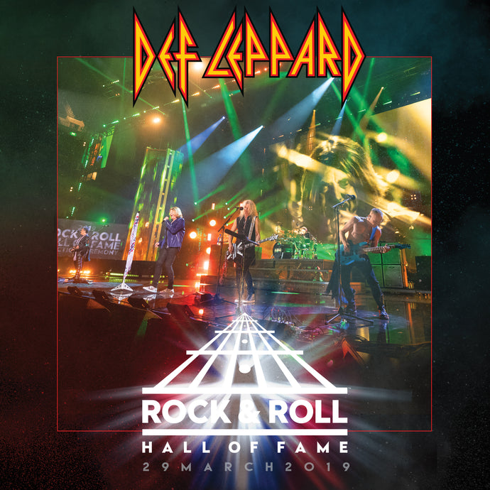 Def Leppard - Rock N Roll Hall of Fame LIVE