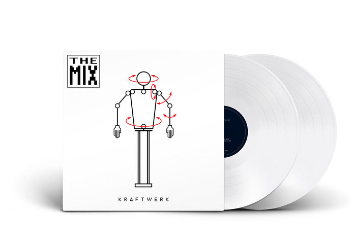 Kraftwerk - The Mix (WHITE)