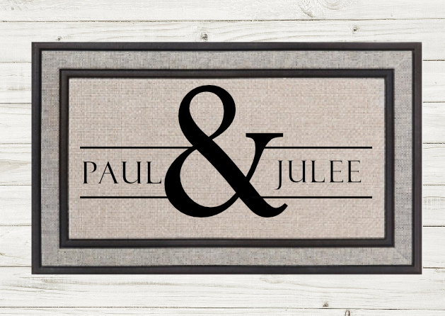 Personalized Doormat-Names &