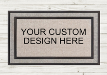 Load image into Gallery viewer, Personalized Doormat-Monogram Circle
