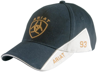 Ariat Signature Cap Black / Natural 10-702 BLACK