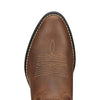 Heritage Western R Toe Distressed Brown toe
