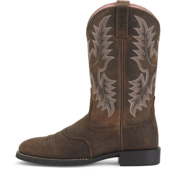 Heritage Stockman Driftwood Brown side