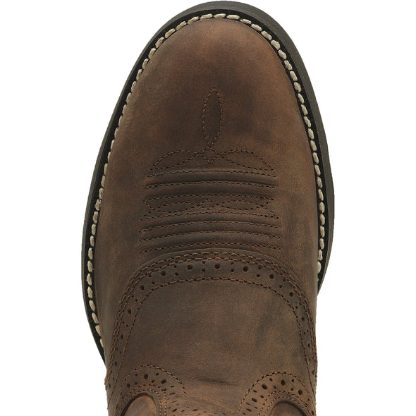 Heritage Stockman Driftwood Brown toe