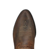 Ariat Kid's Heritage Western Distressed Brown toe