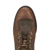 Heritage Lacer II Distressed Brown toe