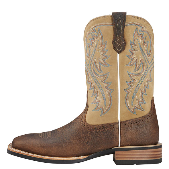 Ariat Men's Quickdraw Tumbled Bark / Beige side