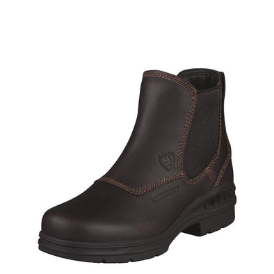 Ariat Women's Barnyard Twin Gore H2O Dark Brown 10003574