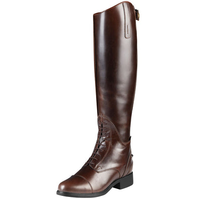 Women's Bromont Tall H2O waxed Chocolate 10008696 Ariat
