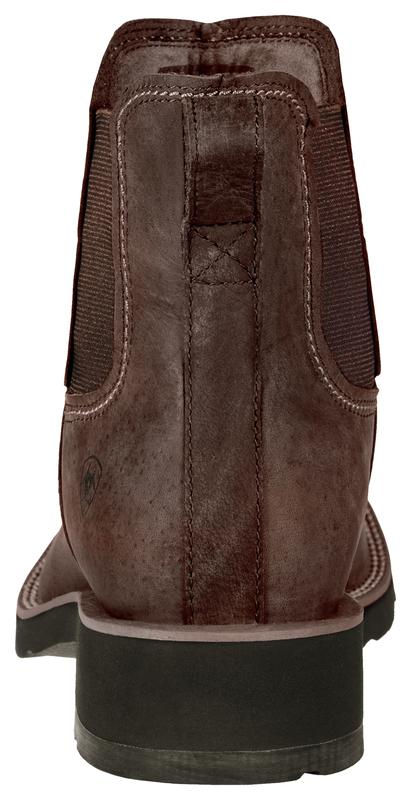 Ariat Men's Ambush Distressed Brown heel