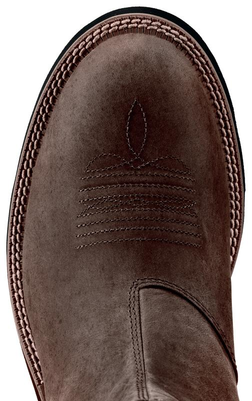 Ariat Men's Ambush Distressed Brown toe
